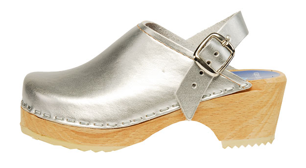Cape Clogs - Children/Toddlers - Silver