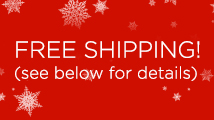 Black Friday and Cyber Monday free shipping promotion