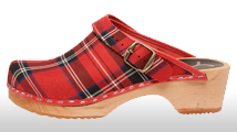 limited edition Cape Clogs Highlands Red