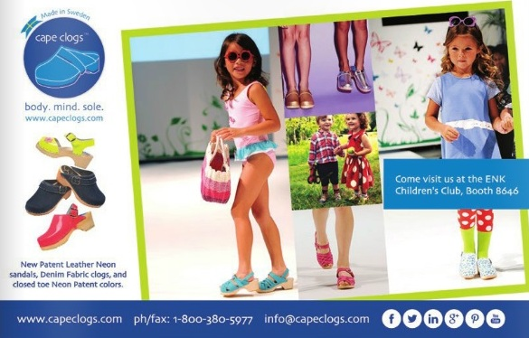 Cape Clogs featured in October 2014 Kids' World Magazine