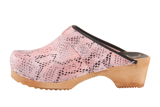 Cape Clogs committed to vegan lifestyle. Faux Snake Vegan