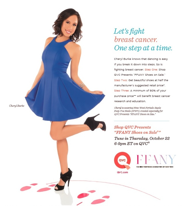 Cape Clogs donates to the 2015 QVC/FFANY Shoes on Sale Benefit