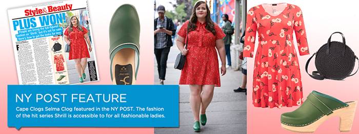 cape clogs featured in New York Post